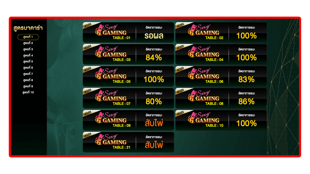 baccarat-cheat-sexy-gaming